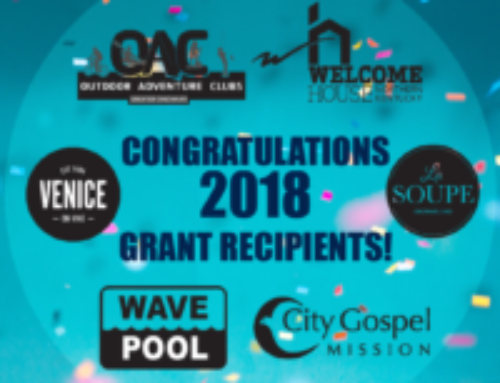 UPDATE: SIX 2018 Impact 100 Grant Recipients