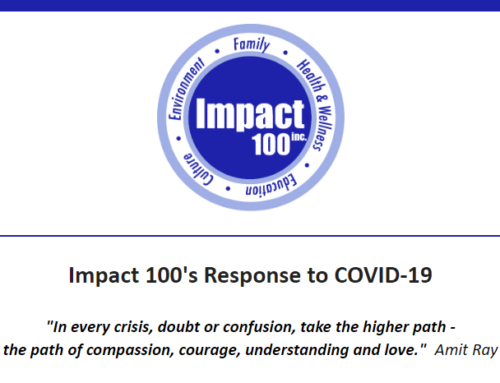 Impact 100's Response to COVID-19